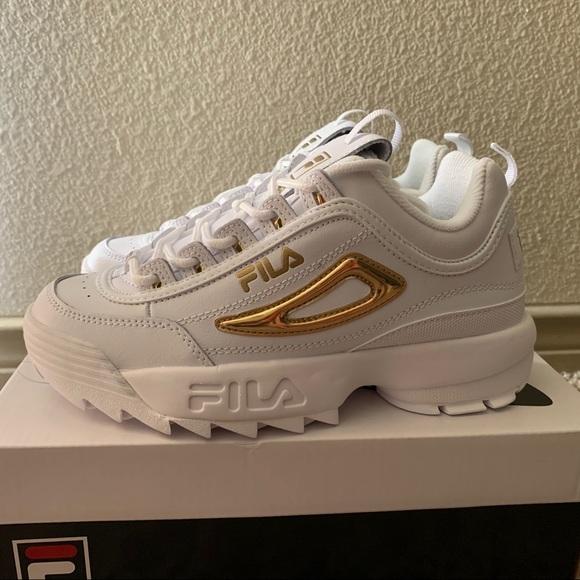 Women's FILA Disruptor II Premium Chunky Shoes NWT